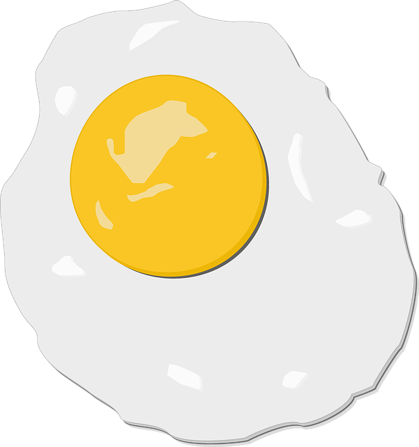 Baking Ingredients Clipart Egg Fried Illustration...
