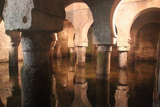 Qué ver qué hacer en Cáceres, Vista interior de El Aljibe Cáceres