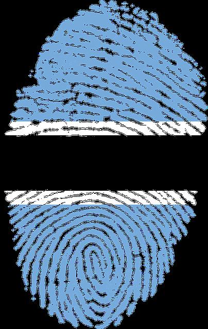 free illustration  botswana  flag  fingerprint - free image on pixabay