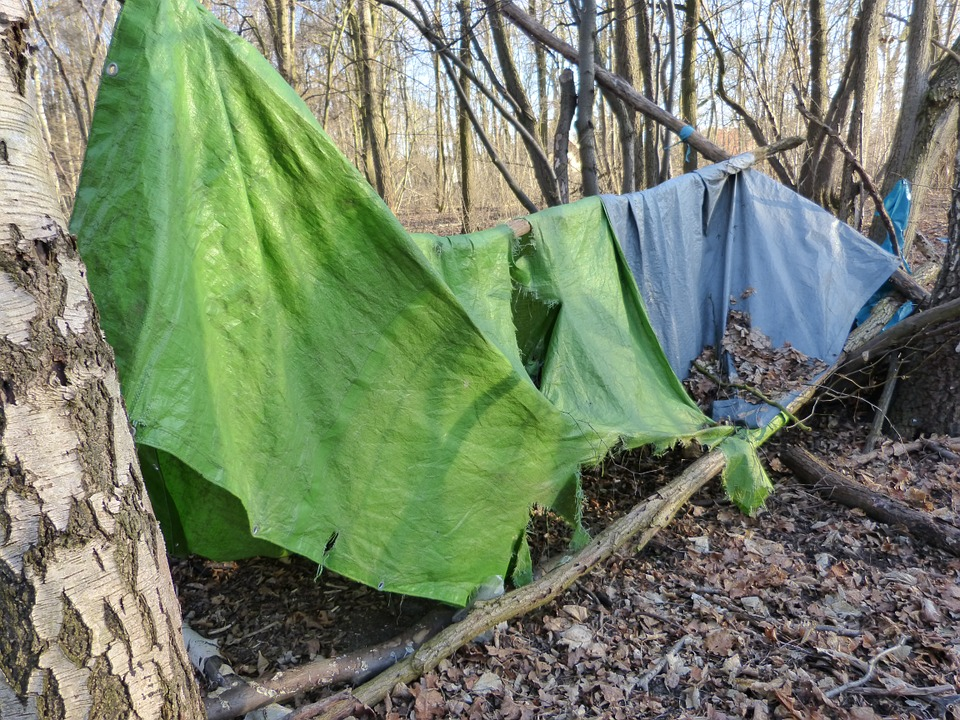 old tent forest c& forget lapsed pollution & Free photo: Old Tent Forest Camp Forget - Free Image on ...