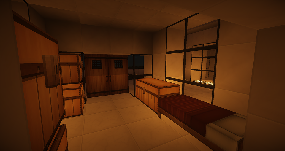 Wonderful Minecraft, Schlafzimmer, Moderne Architektur