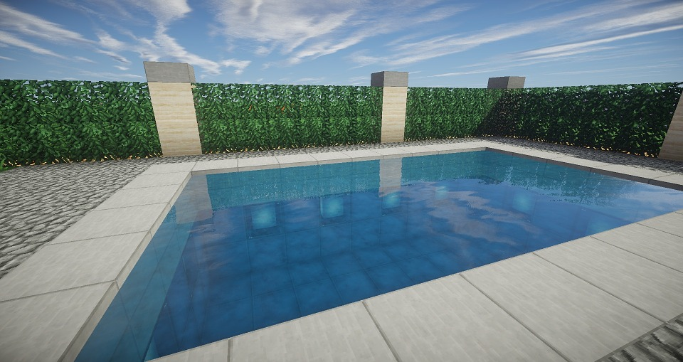 Free illustration: Minecraft, Pool, Architecture - Free ...