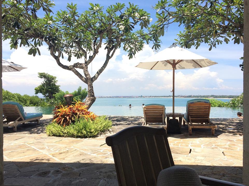 Bali, Jimbaran, Villa Avec Piscine, Piscine