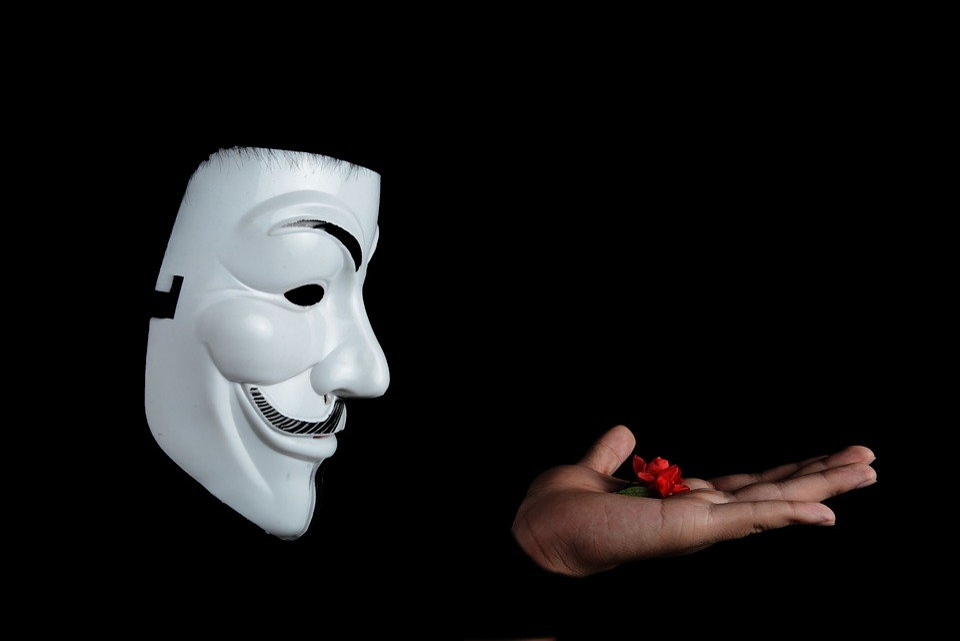 匿名, スタジオ, フィギュア撮影, 顔のマスク