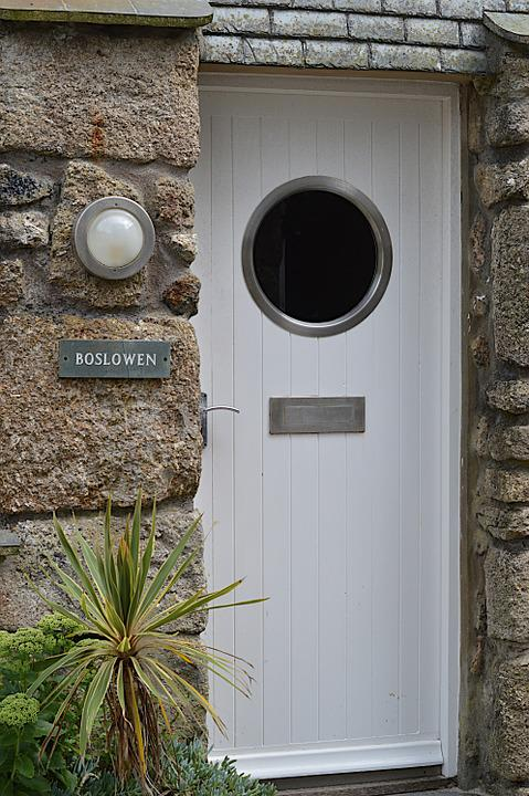 door porthole st ives white frame nautical marine & Door Porthole St Ives · Free photo on Pixabay