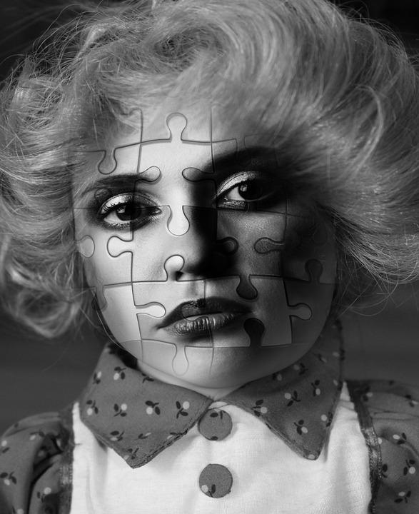 Face, Mulher, Puzzle, Psicologia, Personalidade, Erro