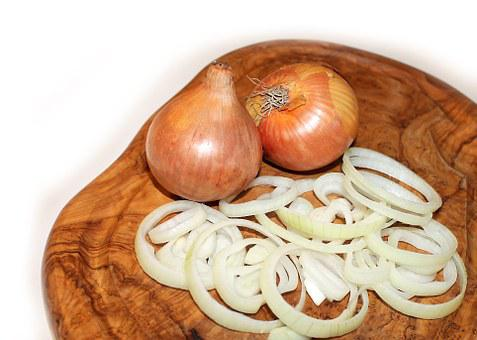 Onion Cutting Board Food Vegetables Onions