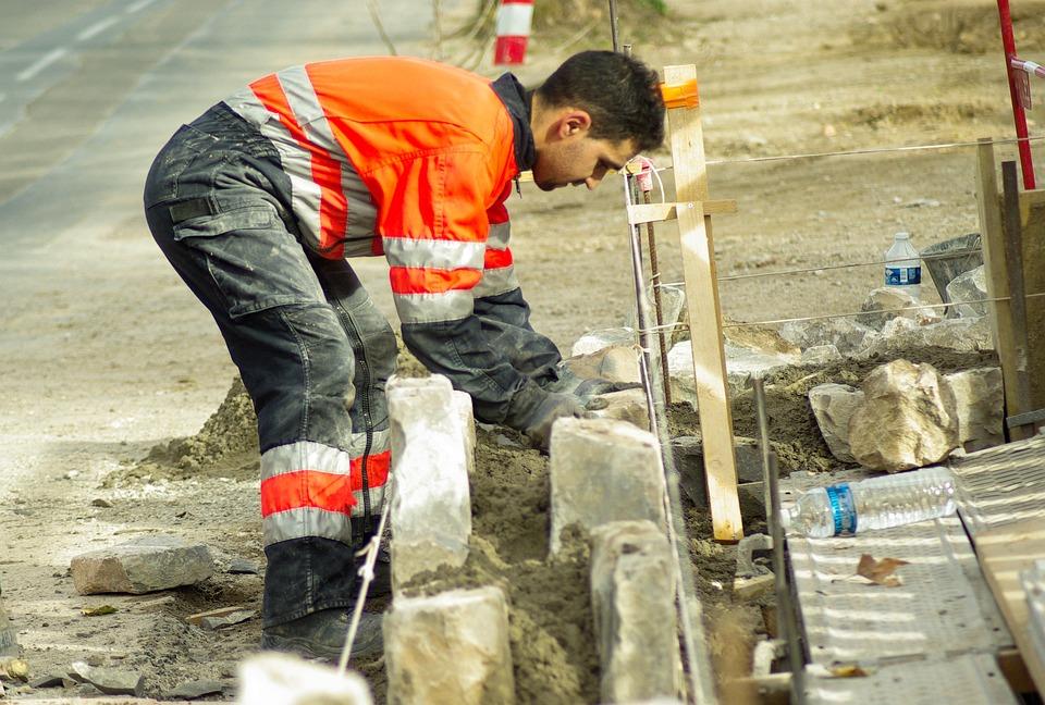 Worker Masonry Concrete - Free photo on Pixabay