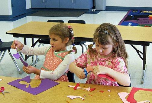 Classroom, Kindergarten, Elementary