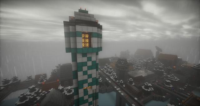 Minecraft, Lighthouse, European