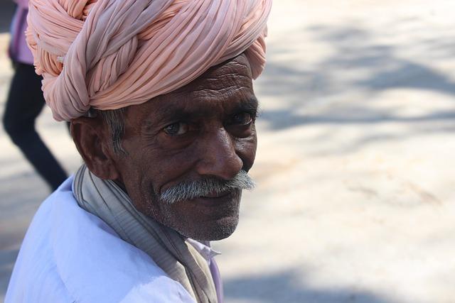 Free Photo Old Man, Turban, Folk, Rajasthan - Free Image -9058