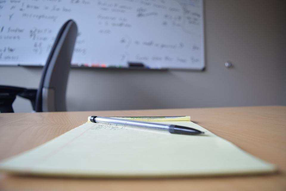 Bureau bloc notes tableau blanc photo gratuite sur pixabay