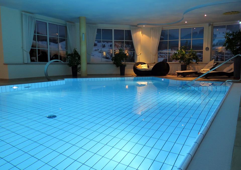 Swimming Pool Blue Water Pool Swim Swimming Pool