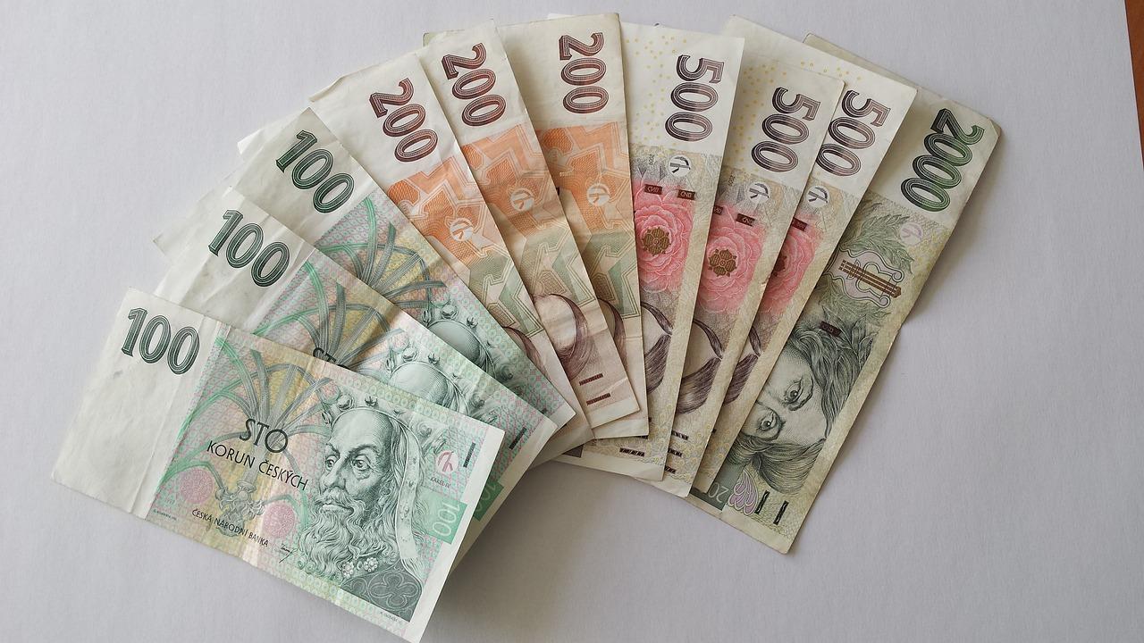 Деньги в праге