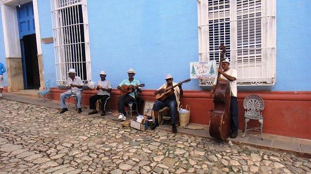 Unsere Kuba-Rundreise: Trinidad - Band