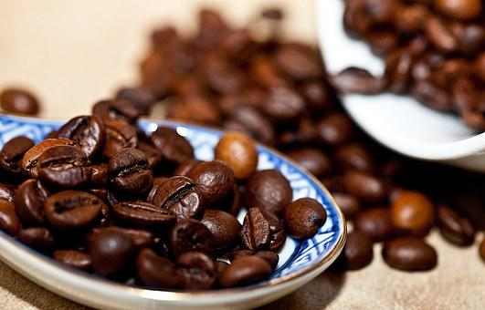 Coffee Coffee Beans Grain Coffee Roasted C