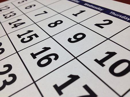カレンダー, 日付, 時間, 月, 数, 計画, 紙, プランナー, ページ