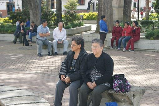 女性, 古い, 人, 引退, 中高年します, 祖母, 老人, 大人, 退職
