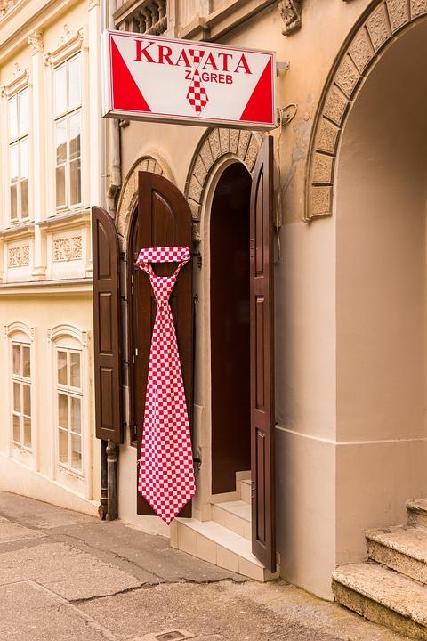Tienda corbatas en Zagreb