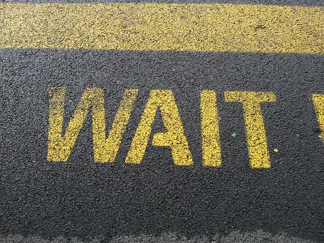 wait sign waiting  u00b7 free photo on pixabay