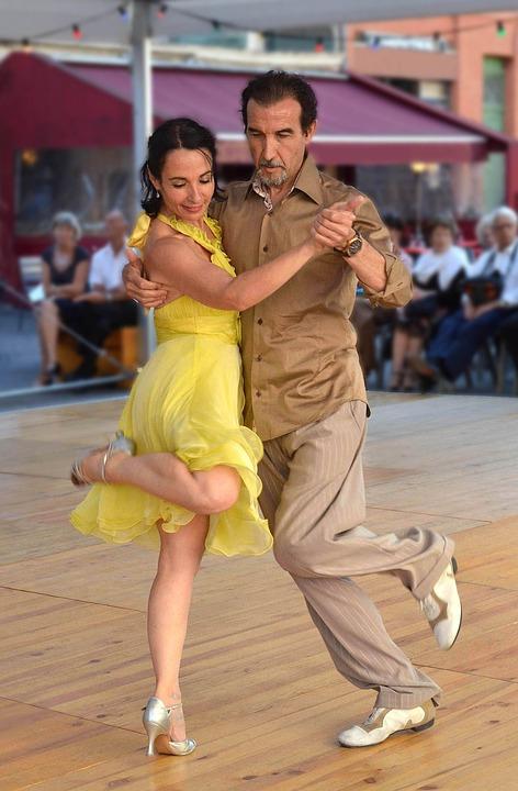 Danse, Tango Argentin, Couple
