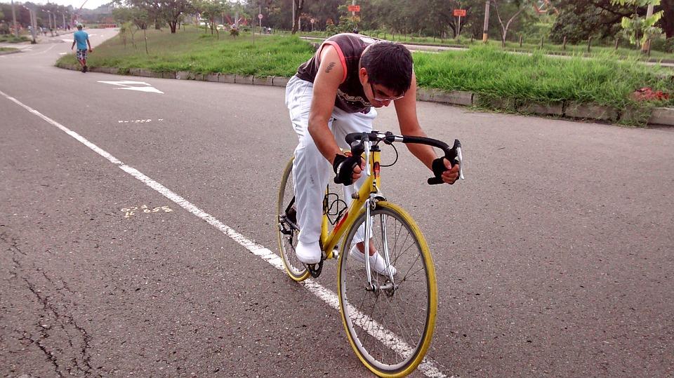 Sport, Bike, White, Exercise, Deporte, Bicicleta, Pedal