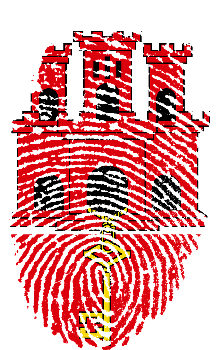 Gibilterra Bandiera Impronte Immagini Gratis Su Pixabay