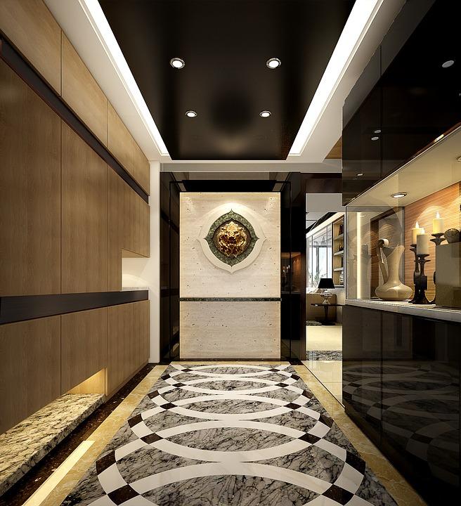 Illustration Gratuite: Maison, Design D'Intérieur, 3D - Image