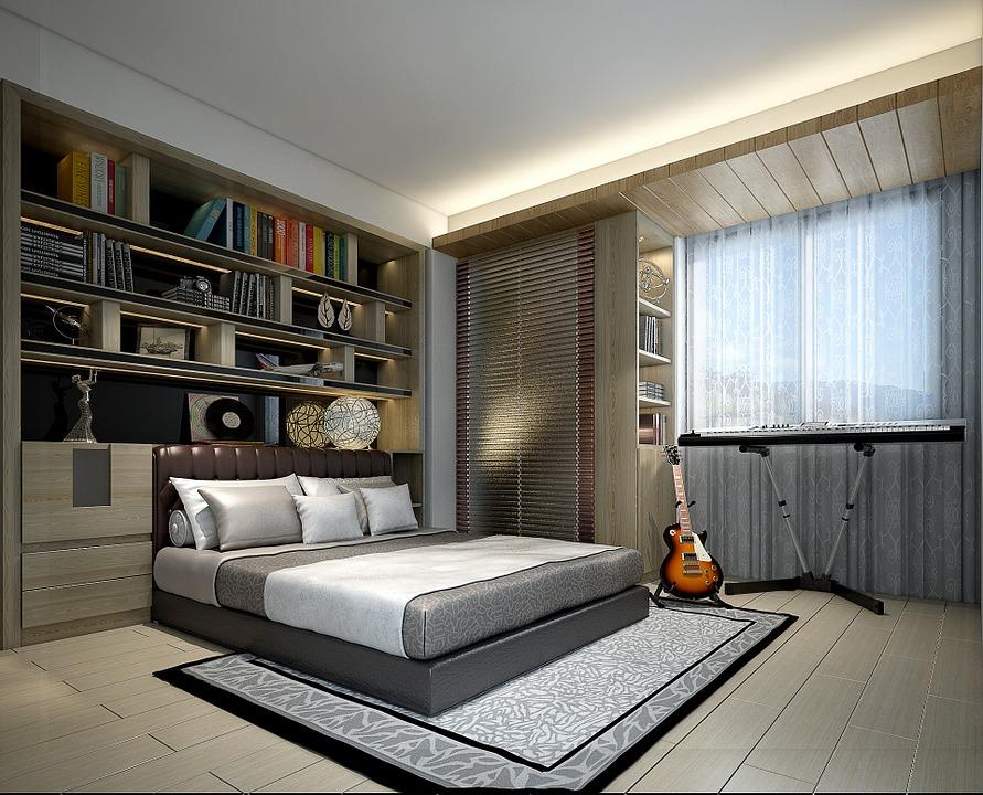 Maison, Design Du0027Intérieur, 3D