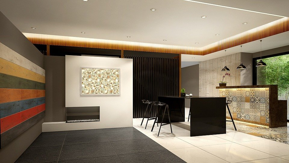 Home, Interior Design, 3D