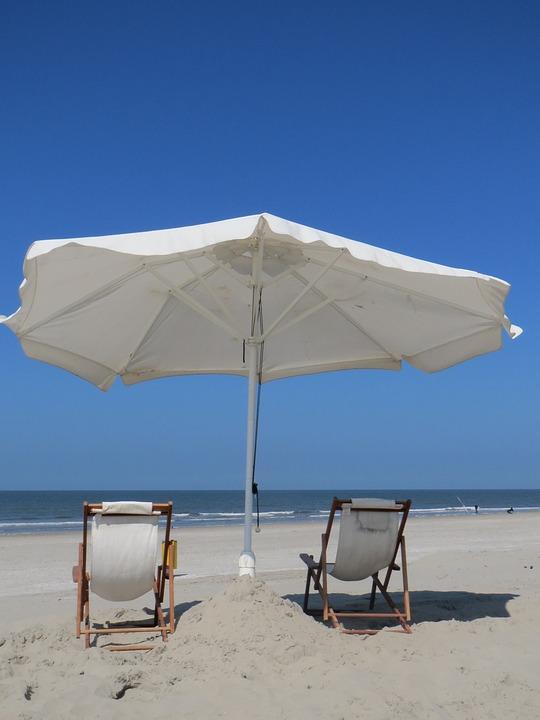 Strandstoel En Parasol.Strand Strandstoel Parasol Gratis Foto Op Pixabay