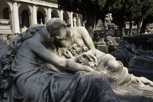 Staglieno, Cemetery, Genoa, Tombstone
