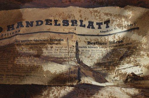 Newspaper, Daily Newspaper, Handelsblatt