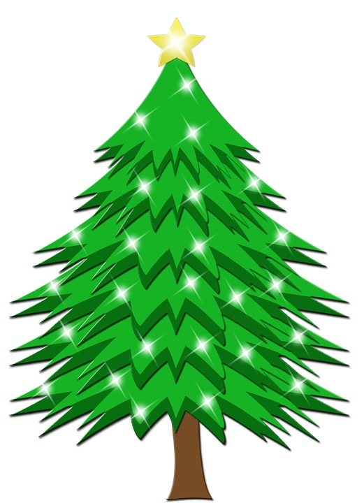 Christmas tree vector png