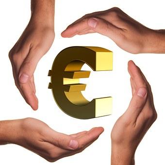 Proteger, Las Manos, Euro, Mano, Moneda