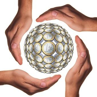 Palla, Proteggere, Le Mani, Euro, Mano