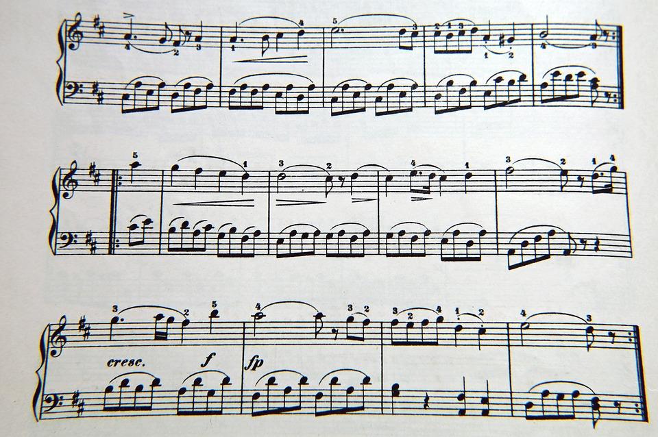 Music Clef Notenblatt - Free photo on Pixabay