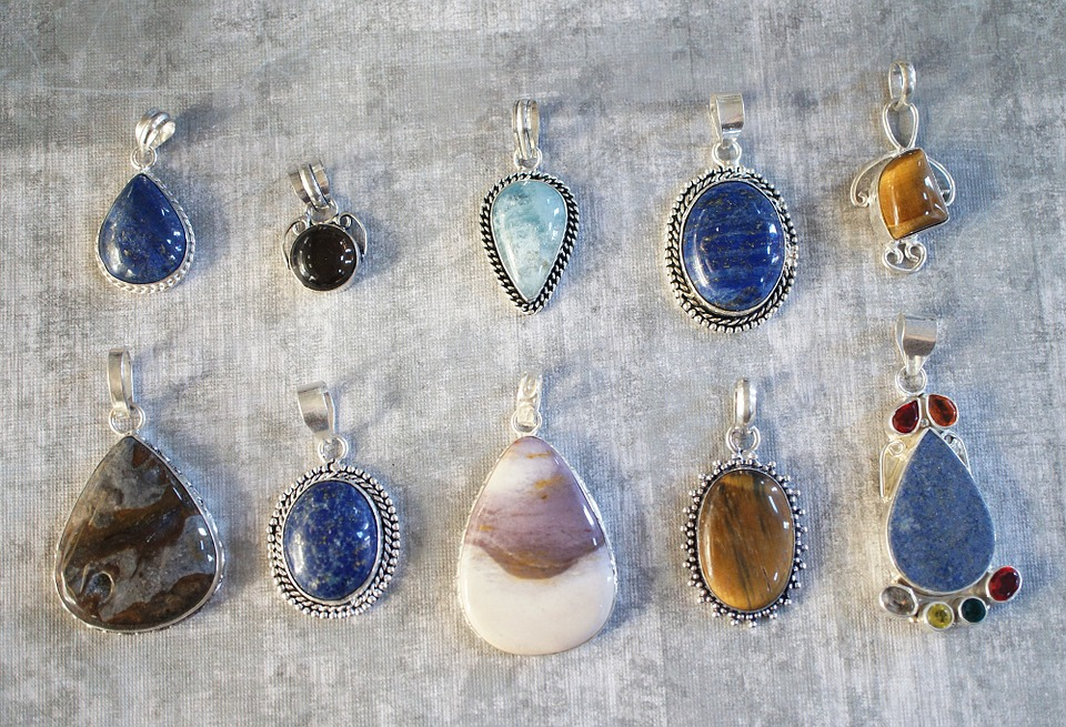 Gemstone pendants gem free photo on pixabay gemstone pendants gem stone jewelry lot bunch aloadofball Image collections