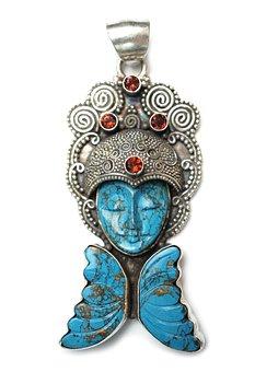 Бирюза, Камень, Подвеска, Богиня