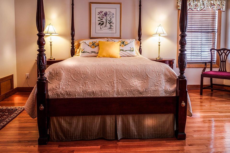 foto gratis: camera da letto, letto, baldacchino - immagine gratis ... - Camera Da Letto Baldacchino