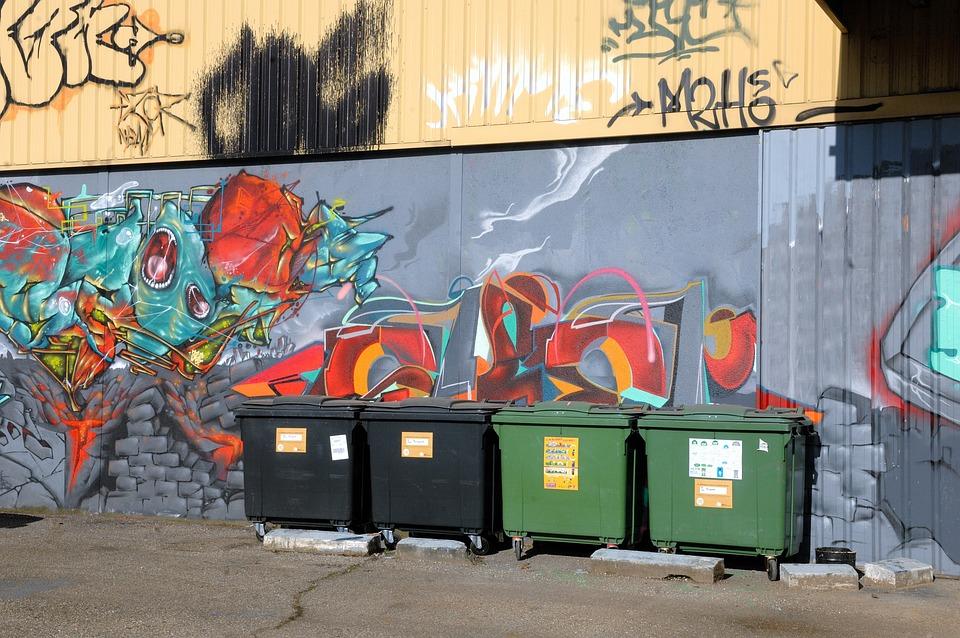 Graffiti Sokak Sanatı Boyama çöp Pixabayde ücretsiz Fotoğraf