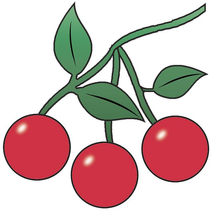 Ceri Buah Makanan Gambar Gratis Di Pixabay