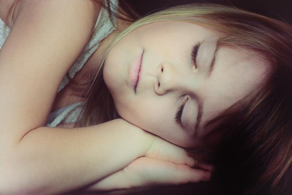 Child, Girl, Face, Blond, Sleep, Portrait, Close Up