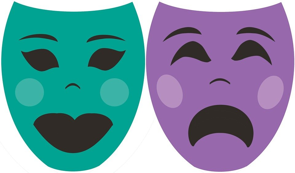 Actor, Mask, Theater, Performance, Comedy, Theatrical
