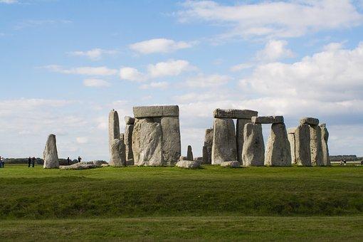 Stonehenge, Ruins, Ancient, England