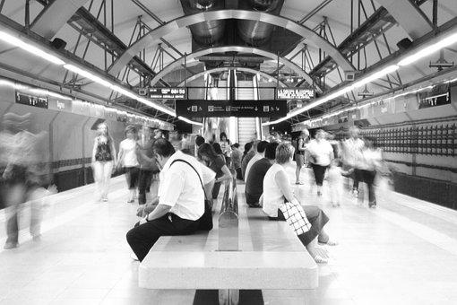 Underground, Tube, Metro, Tunnel