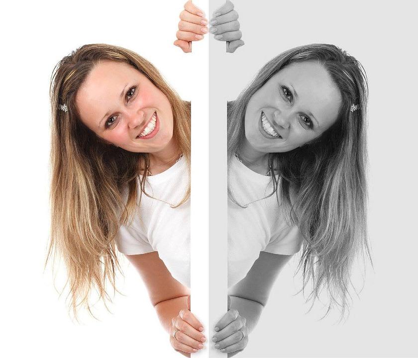 Kostenloses foto m dchen frau spiegel spiegelbild for Spiegel kinderzimmer junge