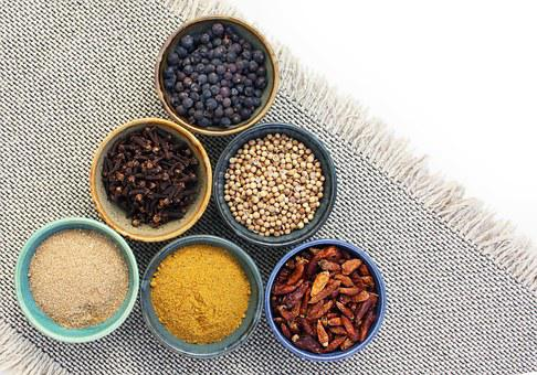 Spices, Condiment, Aroma, Taste, Spicy