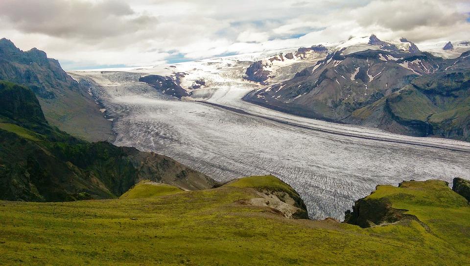 Ľadovec, Island, Sneh, Na Šírku, Islandský, Ľad