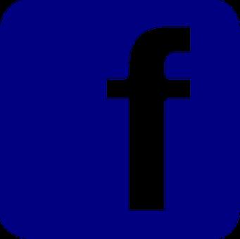 Facebook Button Pin Vector Icon Svg V